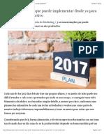 plan 2017