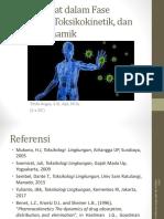 (Mg 4) Interaksi Zat Dalam Fase Eksposisi, Toksokinetik,