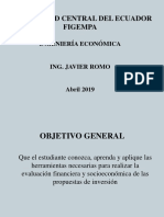 Ingenieria Economica Abril 17 2019 2