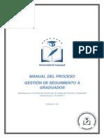 Manual de Procesos y Procedimientos de Seguimiento a Graduados