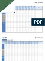 project scedule