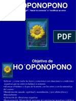 HO OPONOPONO Significa Corregir, Hacer Lo Correcto o Rectificar Un Error