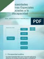 NEE Asociada a la Discapacidad.pptx