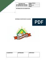 Información Documentada Sgc 2019