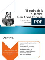 El padre de la didáctica Comenius