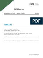 Exame de Filosofia 2019, 2ª fase, prova, versão 2