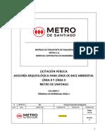 Licitación pública líneas 8 y 9 del Metro de Santiago