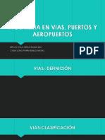 Ingenieria en Vias, Puertos y Aeropuertos