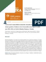 Construcción de vulnerabilidad en humedales alto-andinos integrados con sistemas ganaderos.