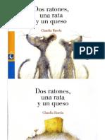 Dos Ratones Una Rata y Un Queso Claudia Rueda