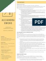Alejandra Owens Resume 2019