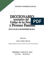 Diccionario Familiar. - Marco Antonio Condori Mamani