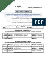 Module Choice Form 2013-14