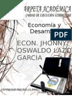Carpeta Académica de Economia y Desarrollo -Derecho - 2019-1 - Final