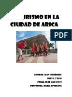 EL Turismo en la ciudad de Arica jeangutierrez 2ºD510.docx