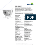 Product Spec or Info Sheet - OSC10-M0W