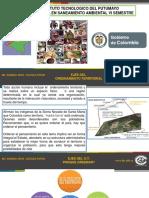 Ejes Del Ordenamiento Territorial 2016