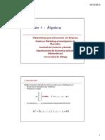matrices gaussianas