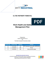 Work Health Safety Management Plan