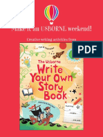 Creative Writing Activity Booklet