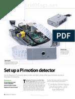 Set up a pi motion detector
