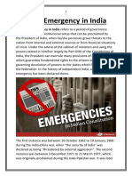 State of Emergency in India.docx