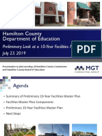 HCDE Preliminary Facilities Master Plan Presentation