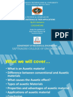 Auxetic Materials - Seminar Presentation