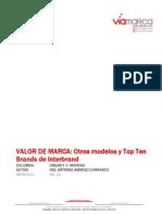 A11 Valor de Marca Otros Modelos y Top Ten Brands de Inter Brand