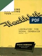 Heathkit Signal Generator 1955
