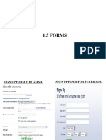 1.5 Forms