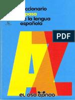 Diccionario Espasa de La Lengua Española - Espasa - 1er Edición