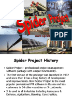 Spider Project Presentation