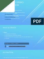 Dokumen.tips 11 String and String Builder Java