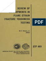 STP 463 - (1970) Review of Developments in Plane Strain Fracture Toughness Testing.pdf