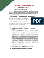 Balotario de Auditoría Ambiental II Preguntas