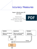 Lecture_Model Accuracy Measures