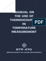 STP 470 - (1970) Manual on the Use of Thermocouples in Temperature Measurement.pdf