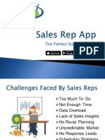 Sales Rep App - The Perfect Sales Solution
