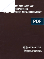 STP 470B - 1981 (1990) Manual on the Use of Thermocouples in Temperature Measurement.pdf