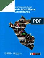 norma de salud mental comunitaria