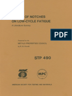 STP 490 - (1972) Effect of Notches on Low-Cycle Fatigue A Literature Survey.pdf