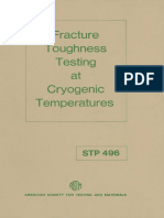 STP 496 - (1971) Fracture Toughness Testing at Cryogenic Temperatures.pdf