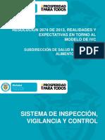 sistema de inspeccion y vigilancia
