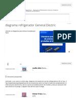 Diagrama Refrigerador General Electric - YoReparo