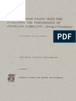 STP 509 - (1972) Single Cylinder Engine Tests for Evaluating the Performance of Crankcase Lubricants (Abridged Procedures) .pdf