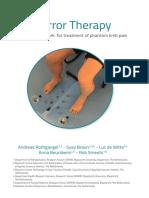 mirror therapy framework for phantom limb pain