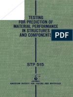 STP 515 - (1972) Testing for prediction of material preformance in structures and components.pdf