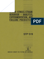 STP 519 - (1973) Cyclic Stress-Strain behavior analysis experimentation and failure prediction.pdf