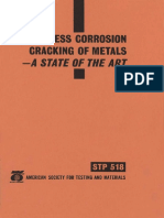 STP 518 - (1983) Stress Corrosion cracking of Matals.pdf